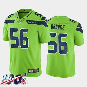 Seattle Seahawks Jordyn Brooks Green Jersey